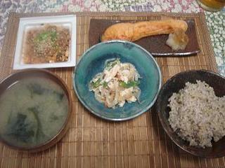 焼鮭・ササミの韓国風ピリ辛和え.jpg
